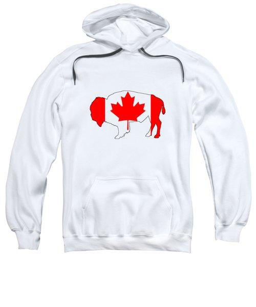 Bison Canada Sweatshirt by Mordax Furittus