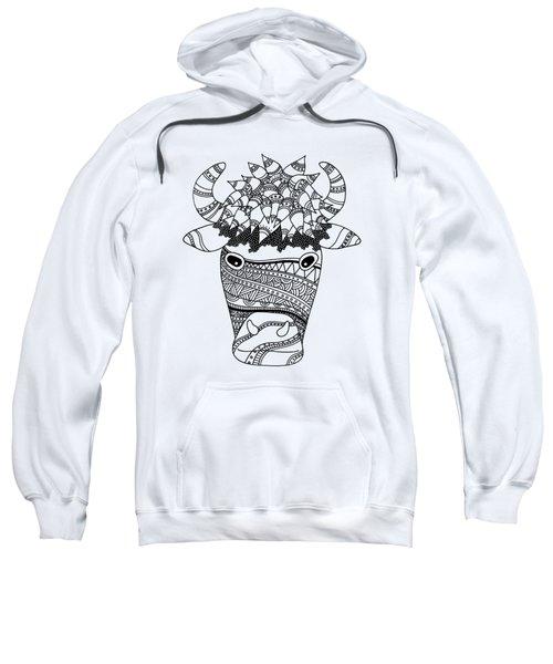 Bison Sweatshirt by Sarah Rosedahl