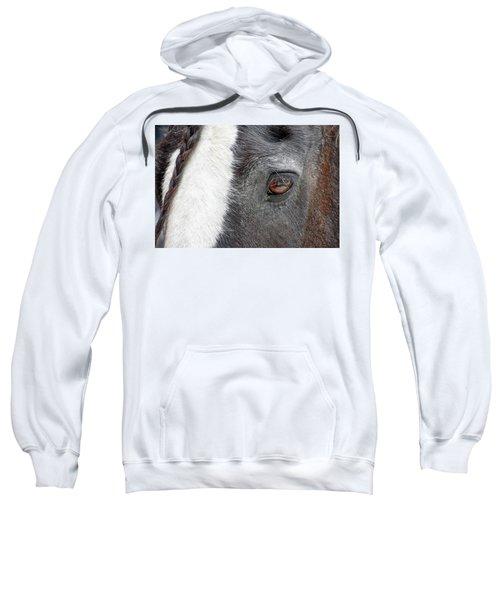 Black And White Beauty Sweatshirt