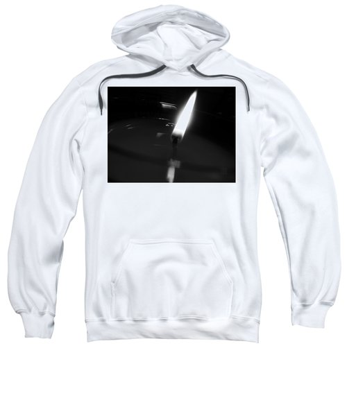 Black And White Flame Sweatshirt