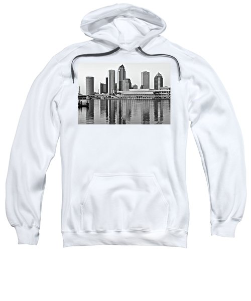 Black And White In The Heart Of Tampa Bay Sweatshirt