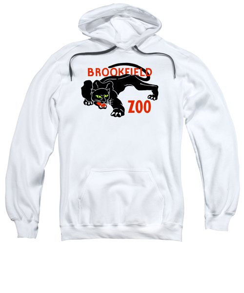 Black Panther Brookfield Zoo Ad Sweatshirt