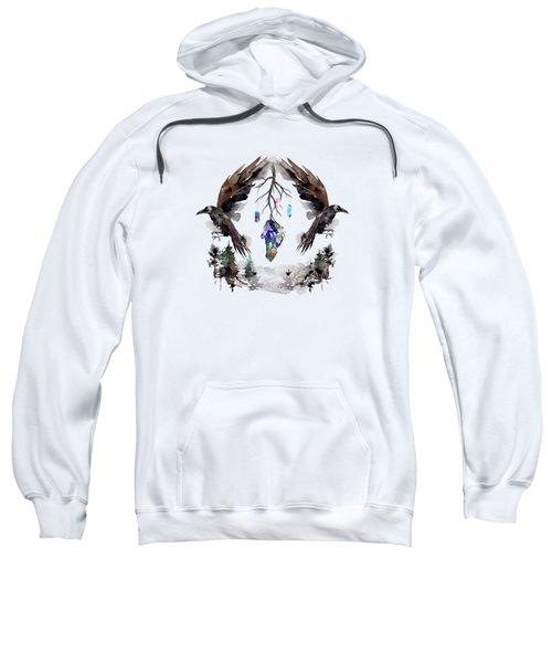 Black Ravens In The Crystal Woods Sweatshirt