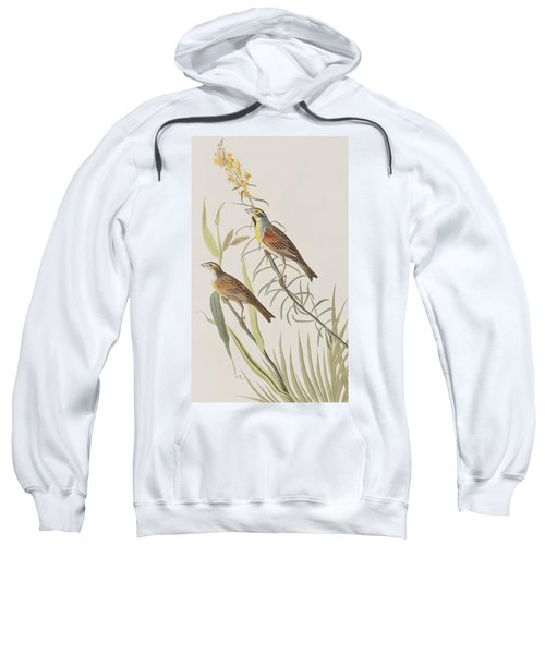 Black-throated Bunting Sweatshirt by John James Audubon