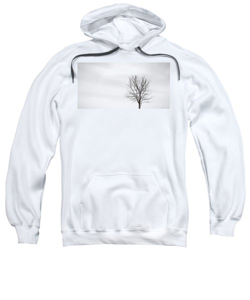 Black Tree White Sky Sweatshirt
