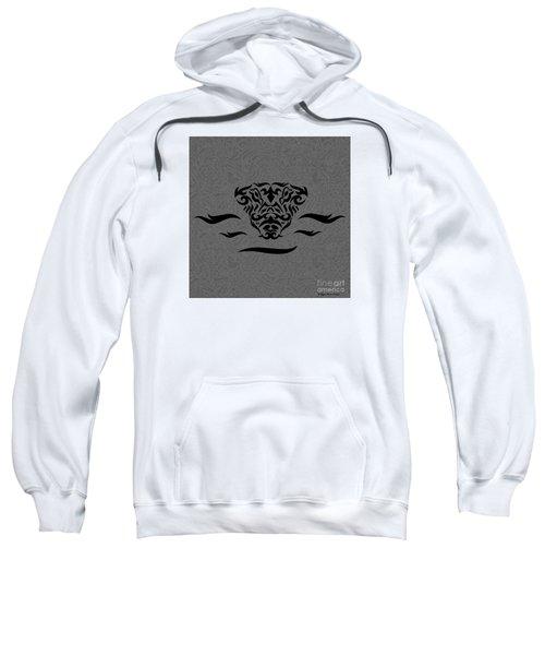 Black Tribal Gator Sweatshirt