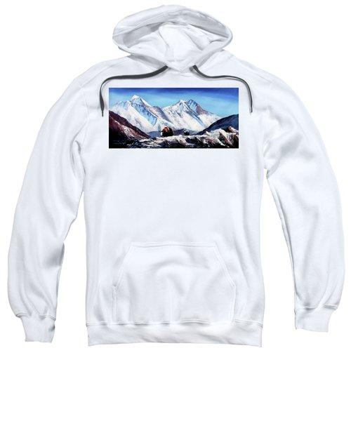 Black Yak On Everest Base Camp Sweatshirt