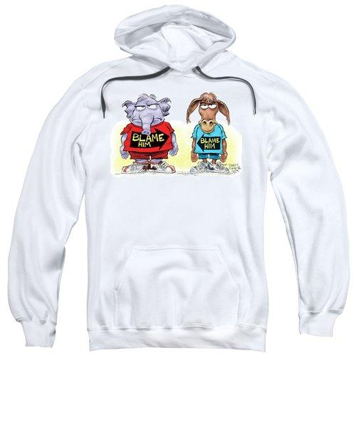 Blame Him Sweatshirt