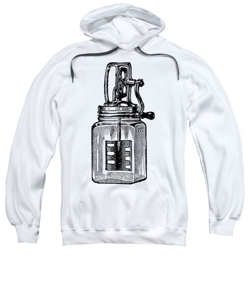 Sweatshirt featuring the digital art Blended by ReInVintaged