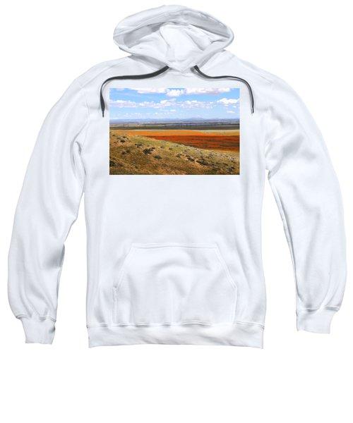 Blooming Season In Antelope Valley Sweatshirt