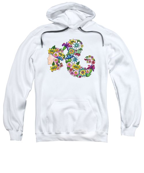 Blossoming Ponytail Sweatshirt