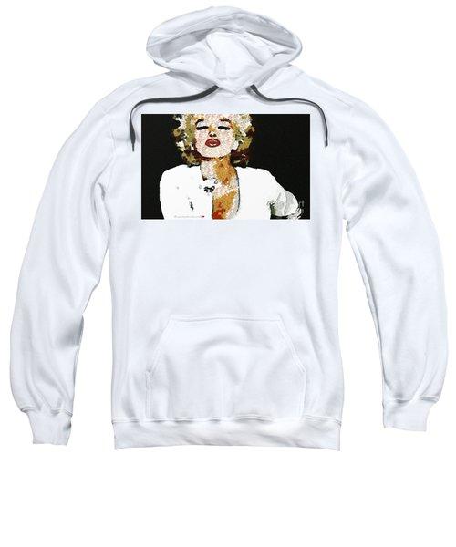 Blow Me A Kiss Marilyn Monroe In The Mix Sweatshirt
