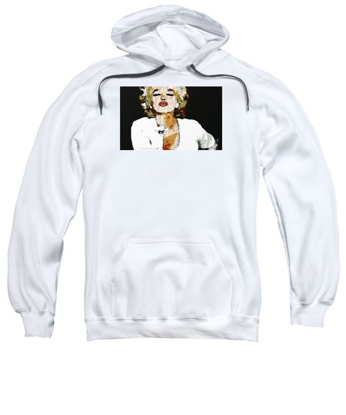 Blow Me A Kiss Marilyn Monroe In The Mix Sweatshirt