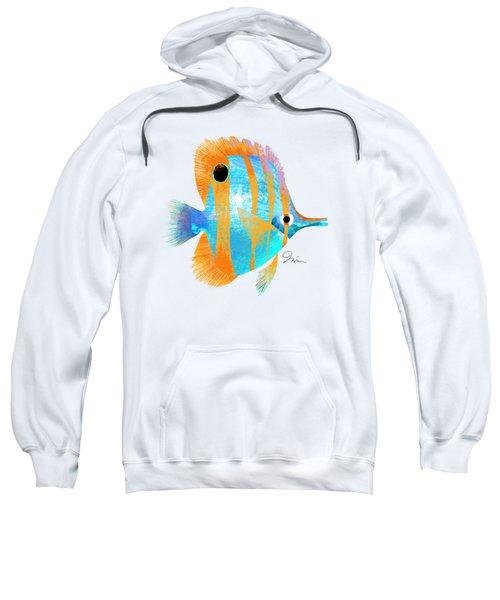 Blue And Gold Fish Sweatshirt