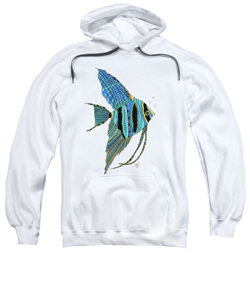 Blue Anglefish Sweatshirt