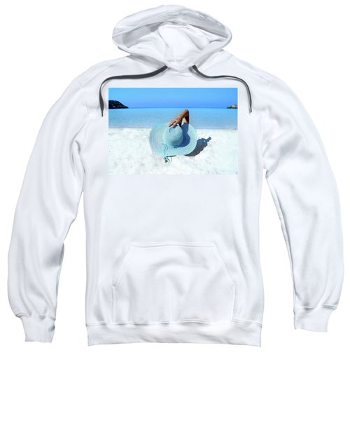 Blue Beach Sweatshirt