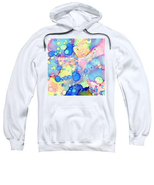 Blue Bubble Gum Pop Sweatshirt