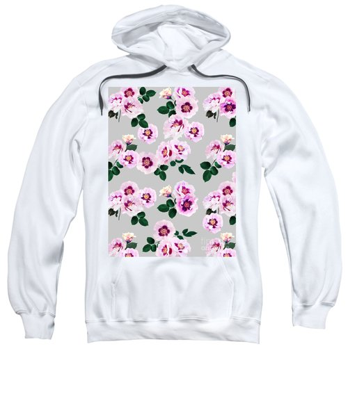 Blue Eyes Roses Sweatshirt