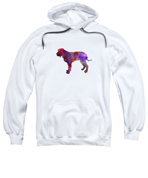 Blue Gascony Griffon In Watercolor Sweatshirt