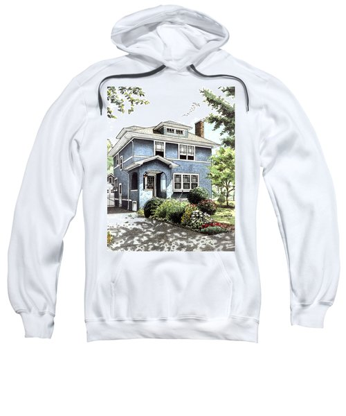 Blue House Sweatshirt