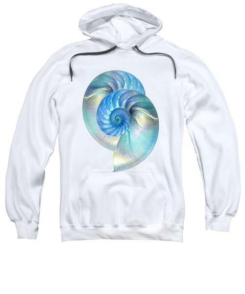 Blue Nautilus Pair Sweatshirt