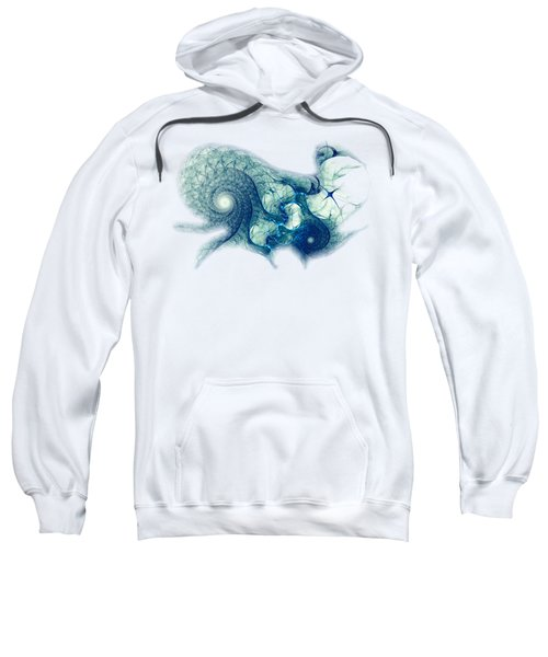 Blue Octopus Sweatshirt