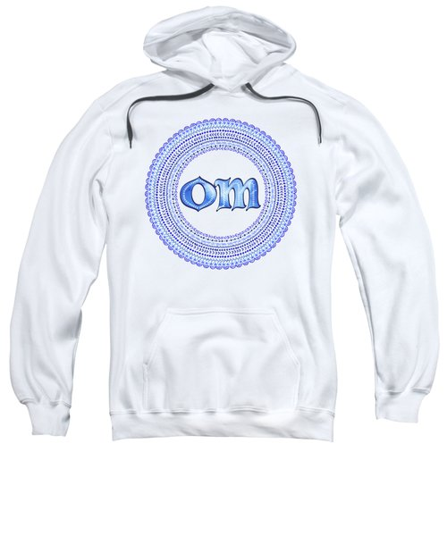Blue Om Mandala Sweatshirt