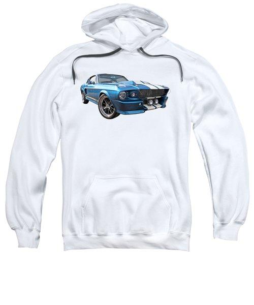 Blue Skies Cruising - 1967 Eleanor Mustang Sweatshirt