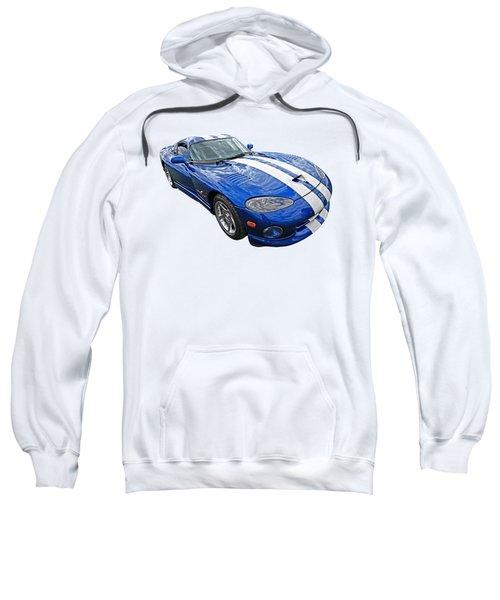 Blue Viper Sweatshirt by Gill Billington