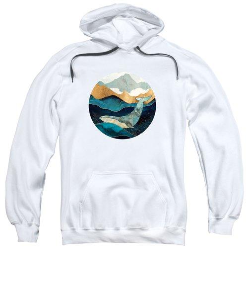 Blue Whale Sweatshirt