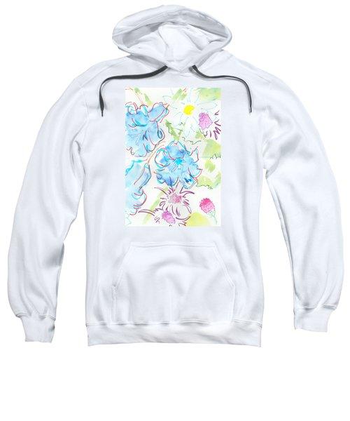 Bluebells English Wild Flowers Sweatshirt