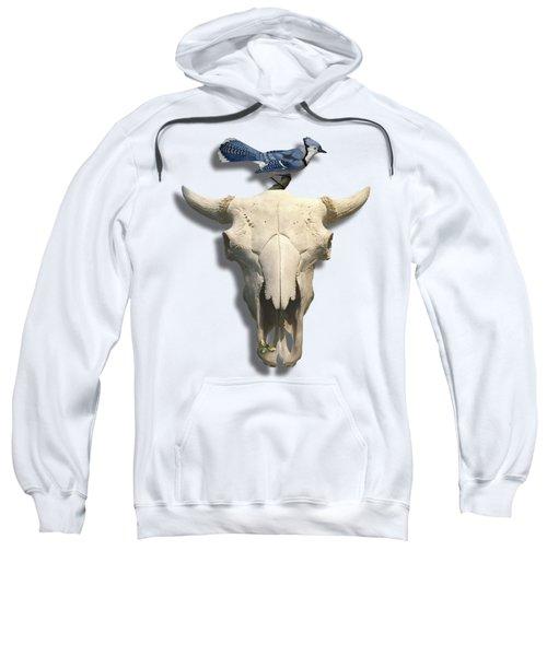 Bluejay And The Buffalo Skull Sweatshirt