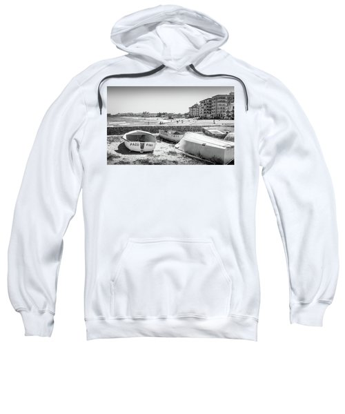 Boats On The Beach Sweatshirt
