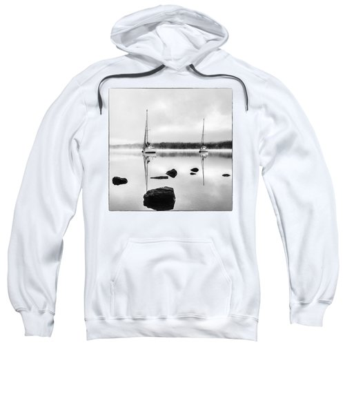 Boats On Ullswater In The Lake District Sweatshirt