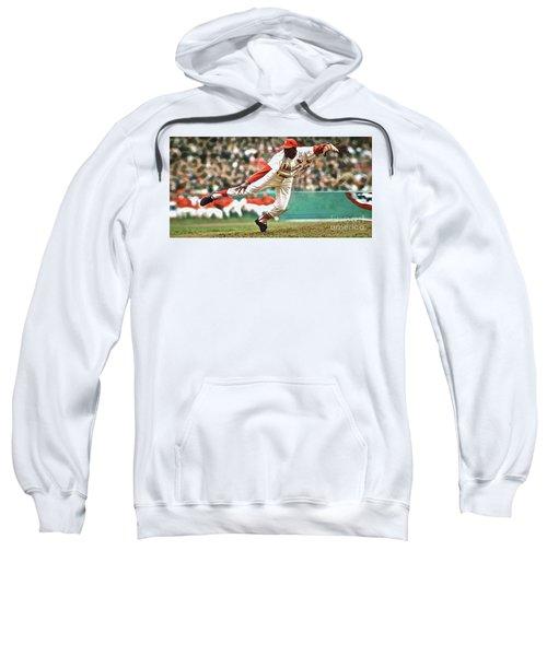 Bob Gibson, 1964 Game 7 Series Mvp Sweatshirt