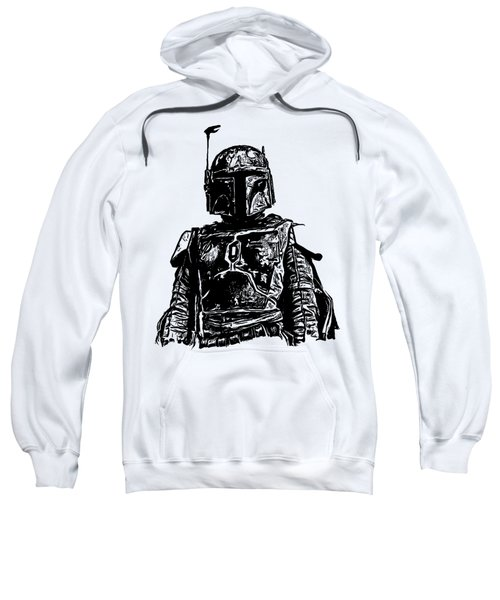 Boba Fett From The Star Wars Universe Sweatshirt