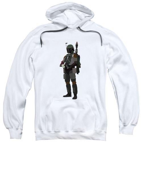Boba Fett Star Wars Character Quotes Poster Sweatshirt