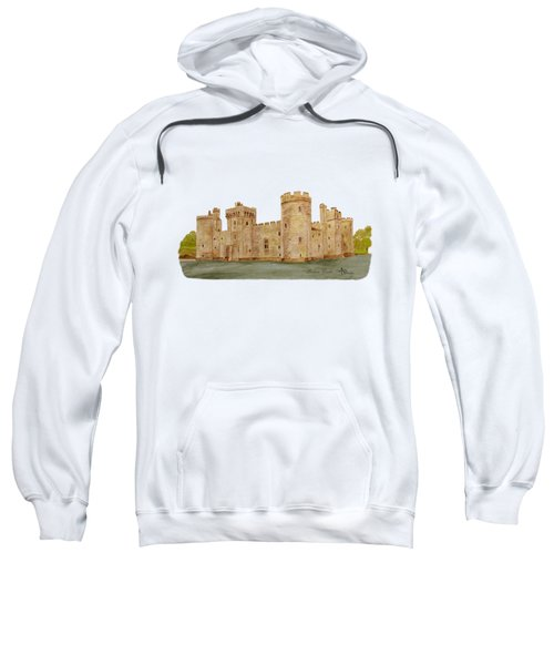 Bodiam Castle Sweatshirt by Angeles M Pomata