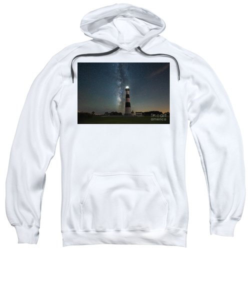 Bodie Island Lighthouse Milky Way Sweatshirt