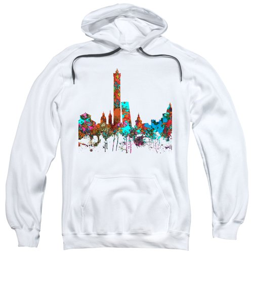 Bologna Italy  Skyline  Sweatshirt by Marlene Watson