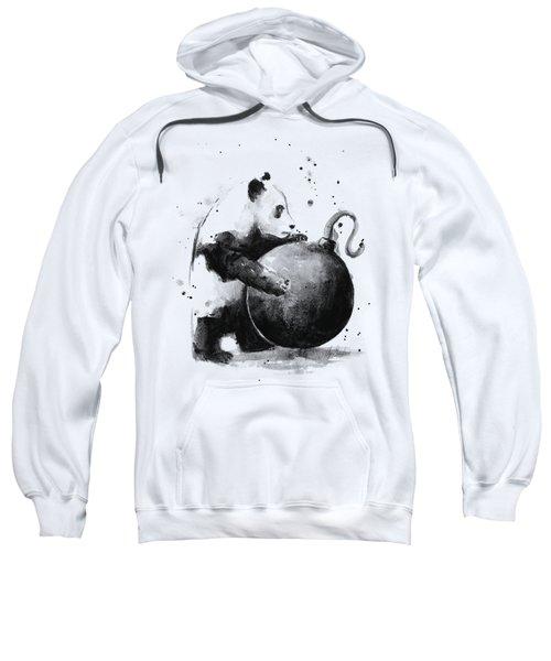 Boom Panda Sweatshirt by Olga Shvartsur