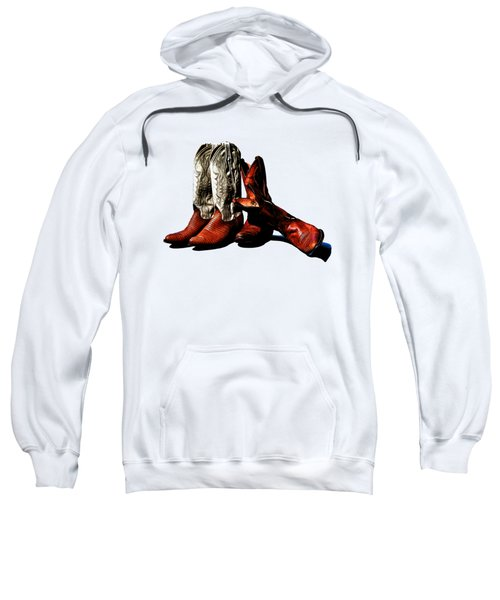 Boot Friends Cowboy Boot T Shirt Art Sweatshirt