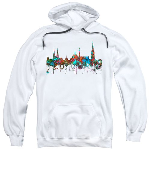 Bordeaux France  Skyline  Sweatshirt