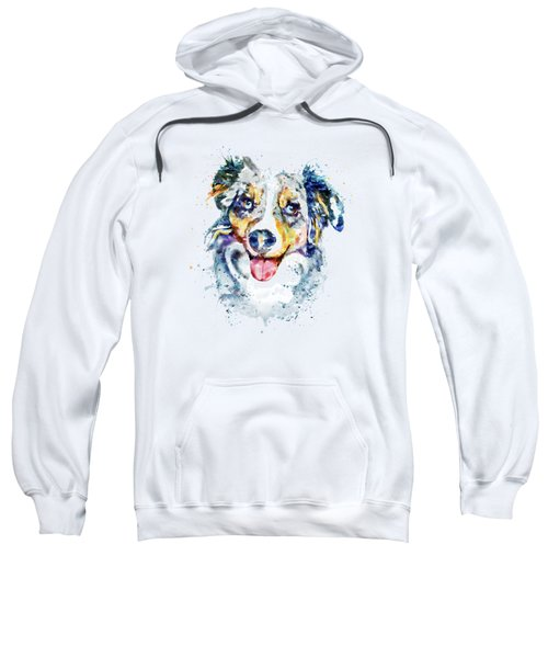Border Collie  Sweatshirt by Marian Voicu