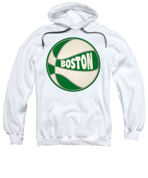 Boston Celtics Retro Shirt Sweatshirt by Joe Hamilton