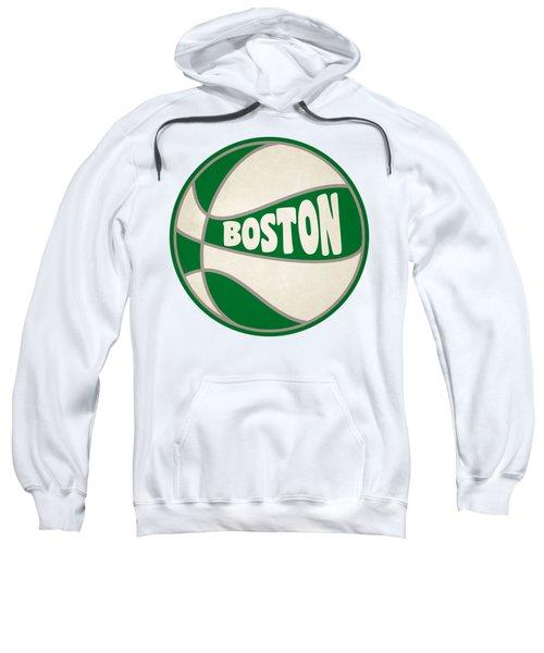 Boston Celtics Retro Shirt Sweatshirt by Joe Hamilton