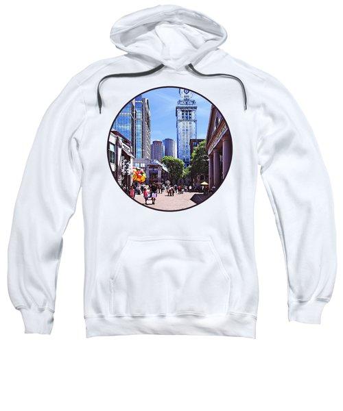 Boston Ma - Quincy Market Sweatshirt