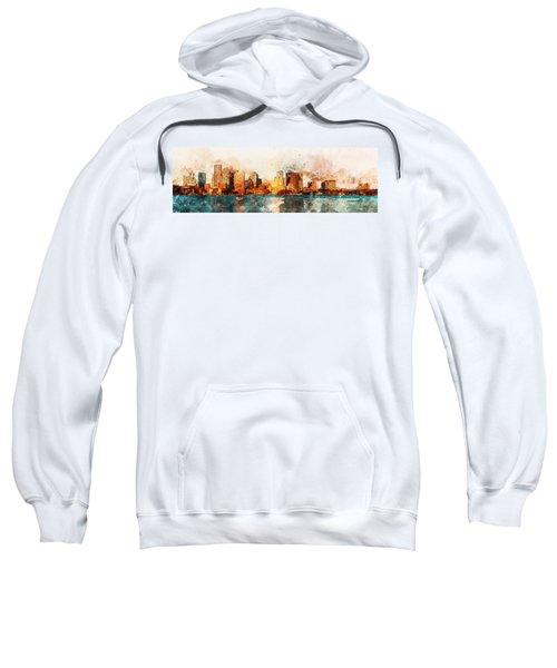 Boston, Panorama - 10 Sweatshirt