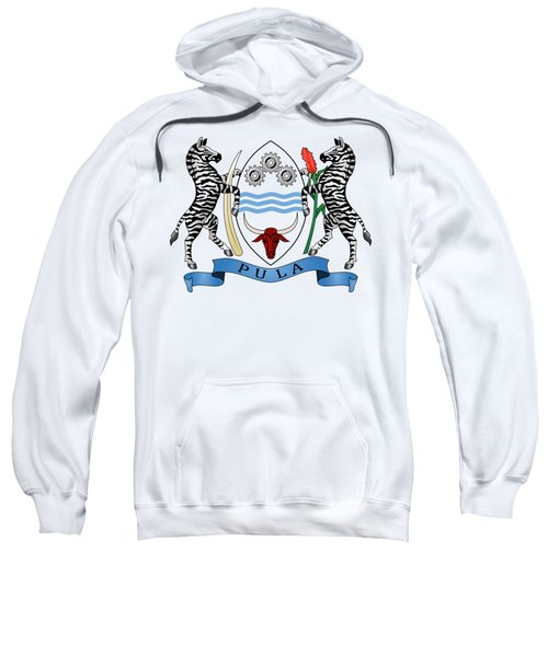 Botswana Coat Of Arms Sweatshirt