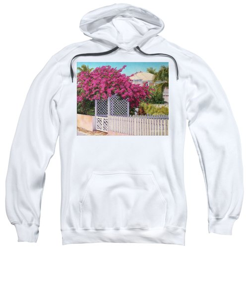 Bougainvillea Crown Sweatshirt
